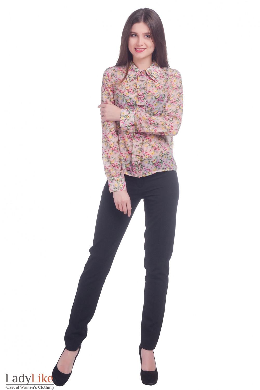 Фото Рубашка женская Деловая женская одежда