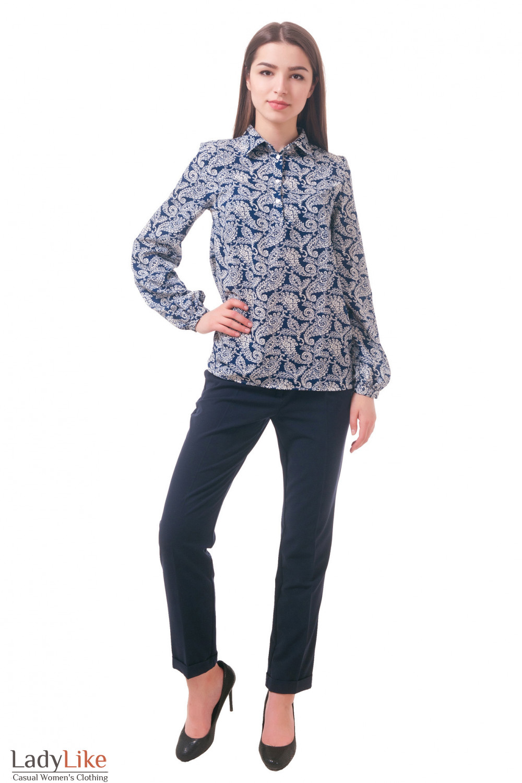 Фото Блузка под брюки Деловая женская одежда