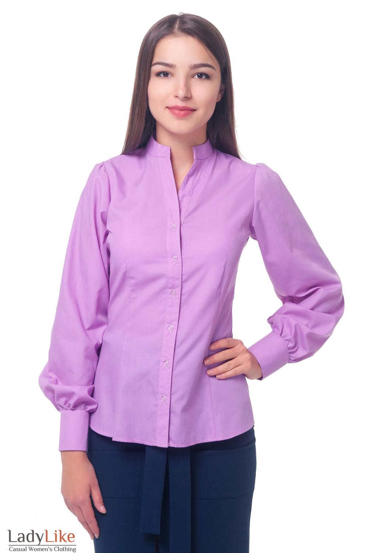 Сиреневая Блузка Доставка