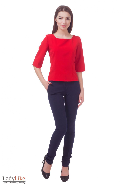 Купить брюки с завышенной талией Деловая женская одежда