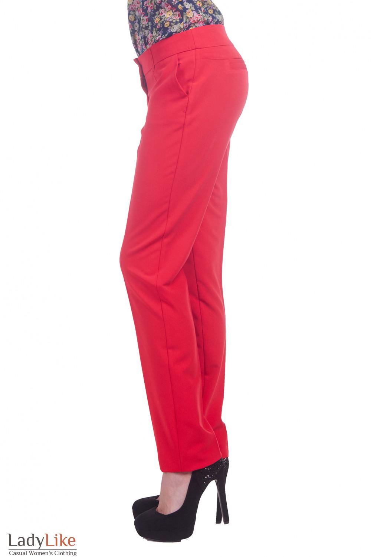 Фото Брюки узкие Деловая женская одежда