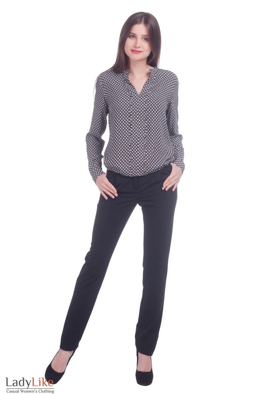 Фото Брюки теплые Деловая женская одежда