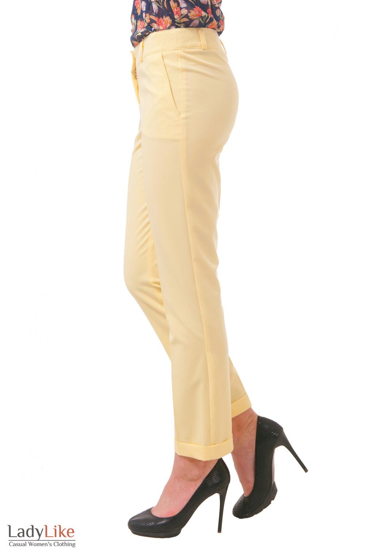 Фото Брюки с манжетами Деловая женская одежда