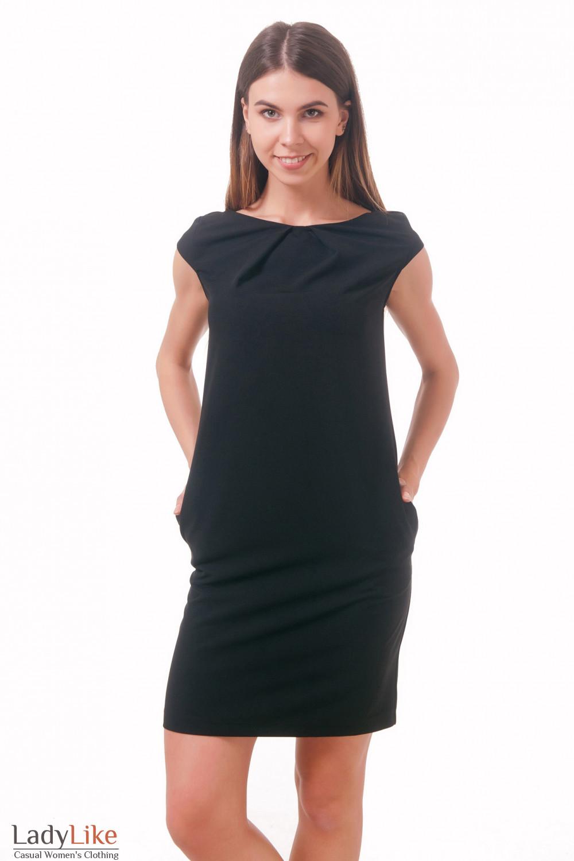 Фото Маленькое черное платье Деловая женская одежда