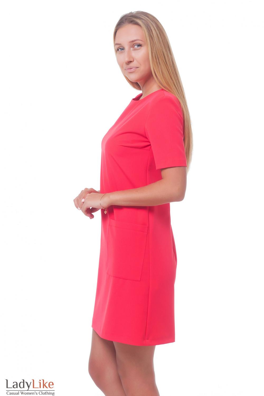 Купить строгое красное платье Деловая женская одежда