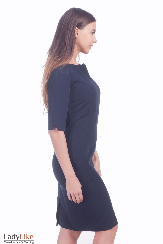 Фото Строгое платье Деловая женская одежда