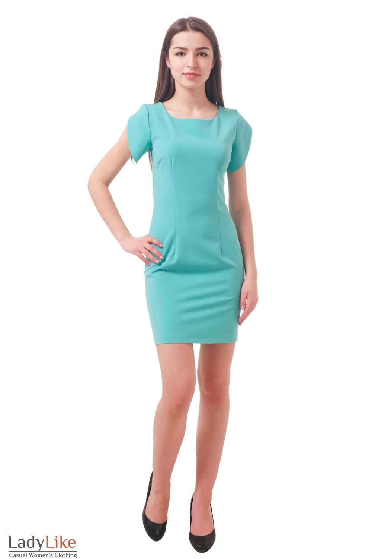 Фото Платье яркое Деловая женская одежда