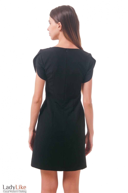 Фото Платье с красивым рукавом Деловая женская одежда