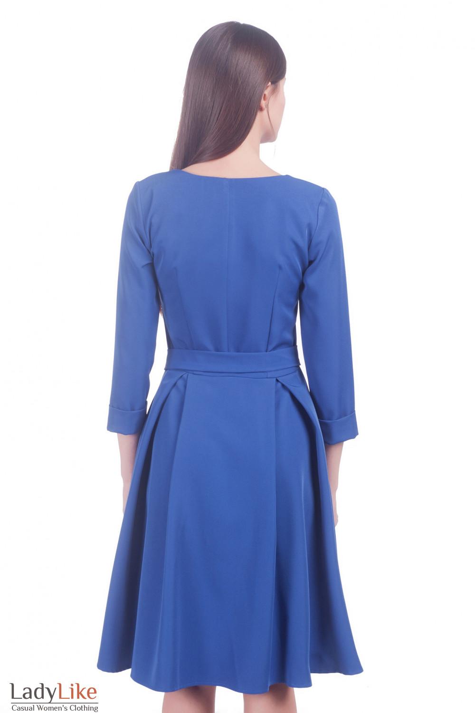 Фото Платье с пышной юбкой Деловая женская одежда