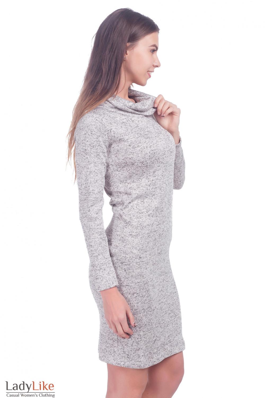 Фото Платье с хомутом Деловая женская одежда