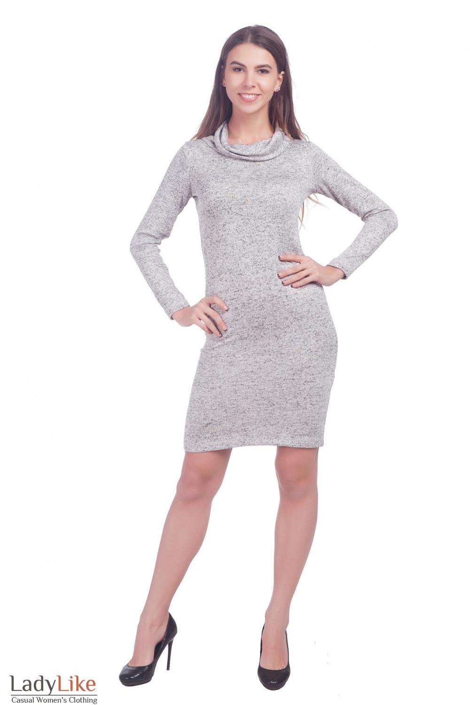 Фото Платье зимнее Деловая женская одежда