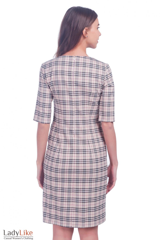 Фото Теплое платье Деловая женская одежда