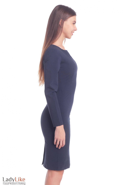 Купить платье в полоску. Деловая женская одежда