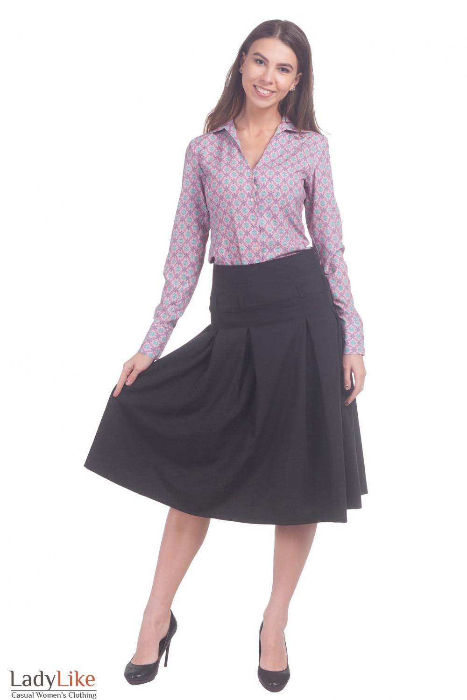 Фото Юбка за колено Деловая женская одежда