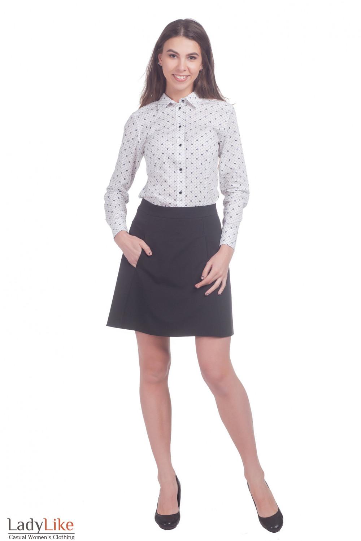 Фото Юбка выше колена Деловая женская одежда