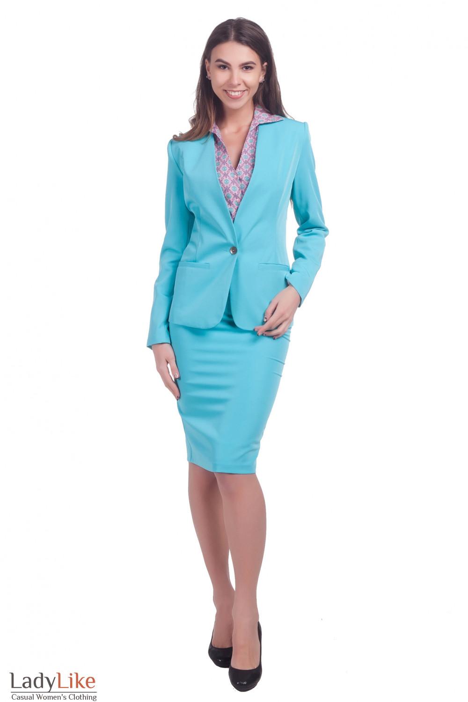 Фото Костюм нарядный Деловая женская одежда