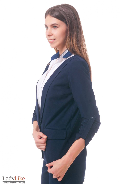 Фото Жакет свободный Деловая женская одежда