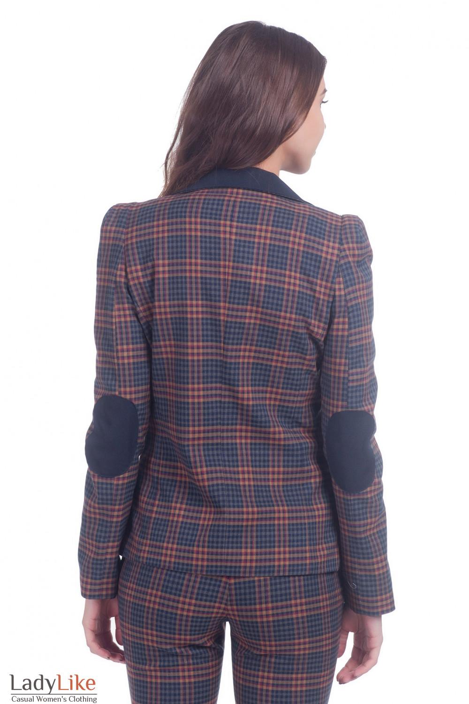 Фото Жакет с латками Деловая женская одежда
