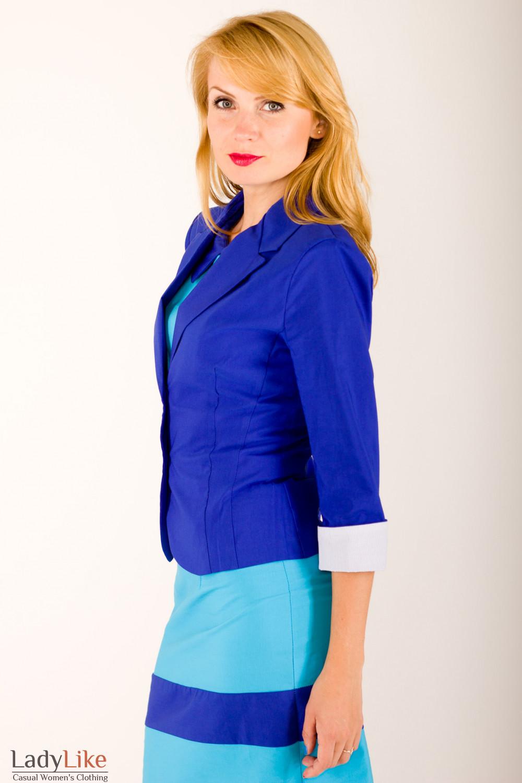 Фото Жакет летний Деловая женская одежда