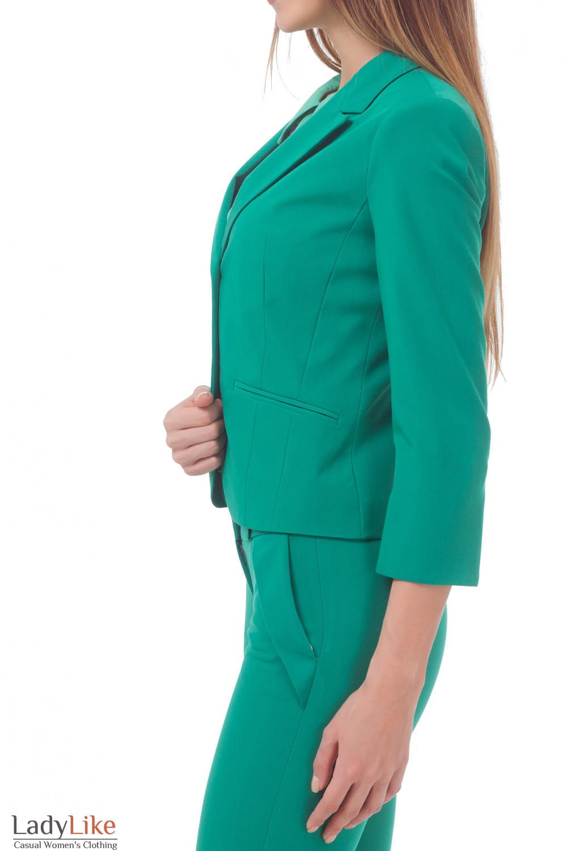 Купить жакет женский зеленый Деловая женская одежда