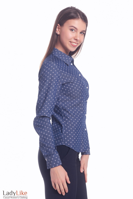 Купить джинсовую рубашку Деловая женская одежда