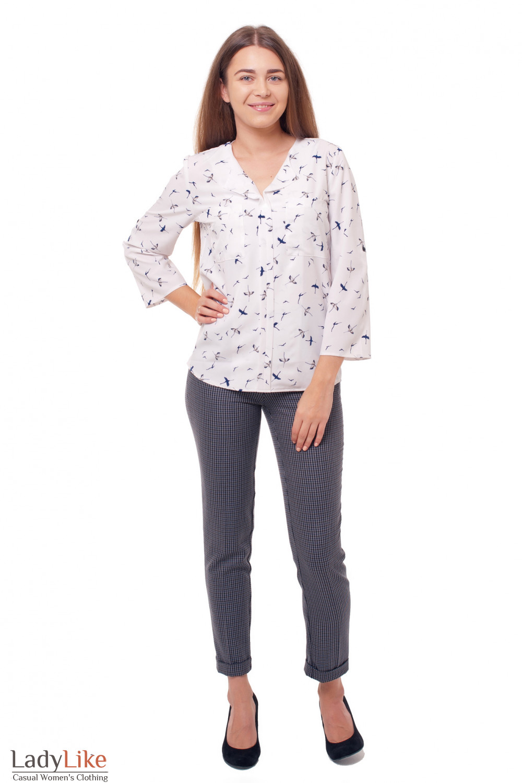 Купить блузку женскую Деловая женская одежда фото