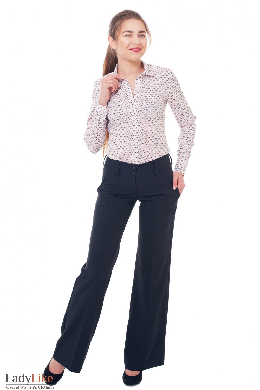 Деловая женская одежда Брючный костюм фото