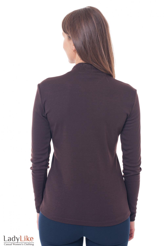 Теплый джемпер Деловая женская одежда фото