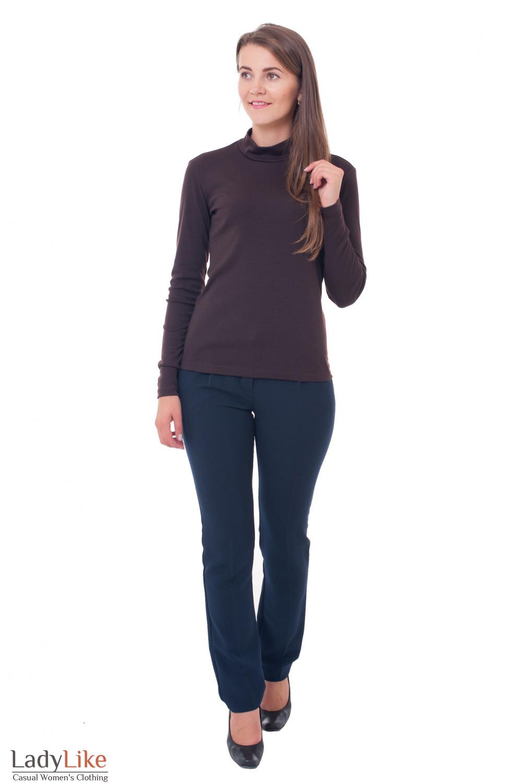 Гольф зимний Деловая женская одежда фото