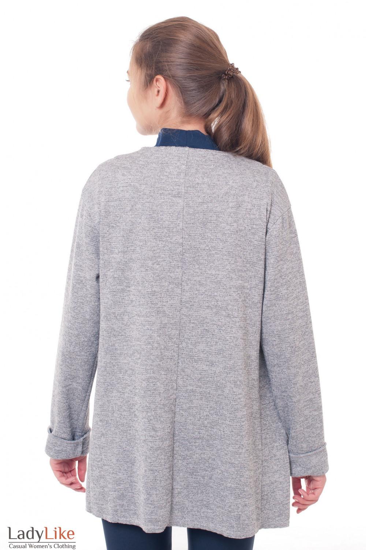 Кардиган теплый Деловая женская одежда фото