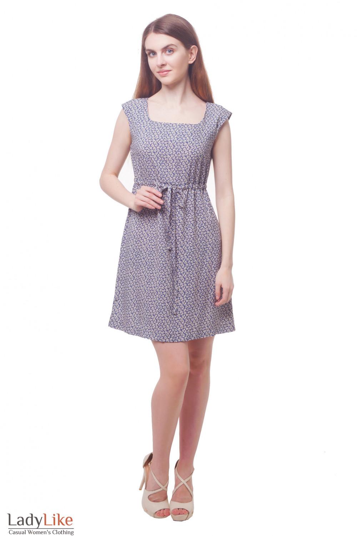 Купить летнее платье из штапеля Деловая женская одежда