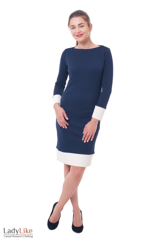 Купить теплое платье Деловая женская одежда фото