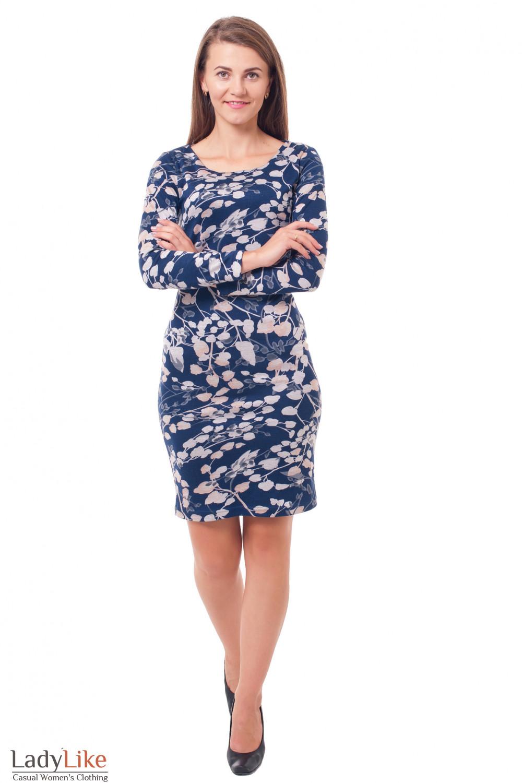 Купить трикотажное платье Деловая женская одежда фото