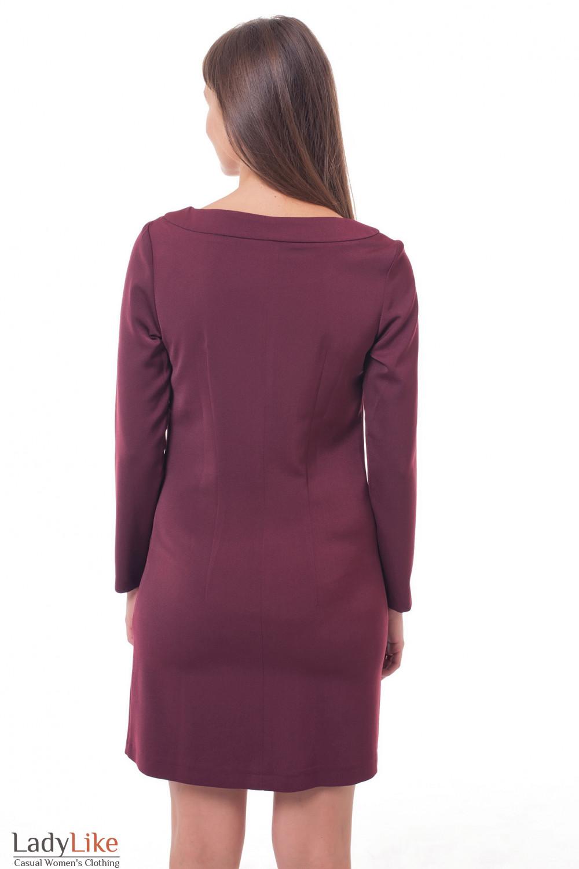 Купить платье теплое Деловая женская одежда фото