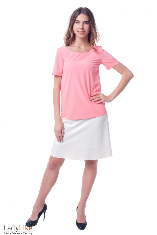 Купить нарядную белую юбку-клеш  Деловая женская одежда фото