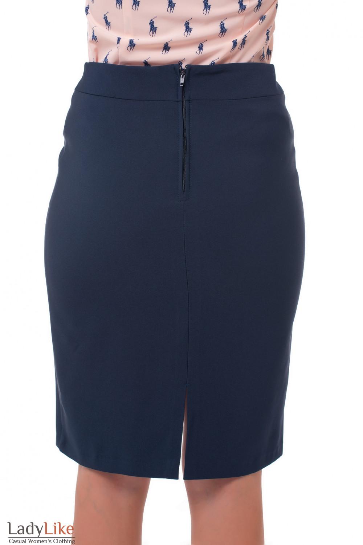 Купить юбку на флисе Деловая женская одежда фото