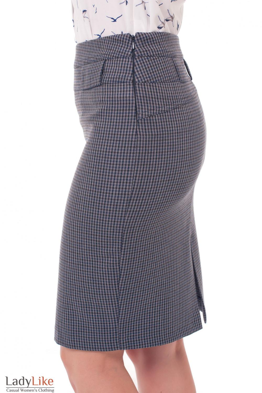 Юбка теплая Деловая женская одежда фото