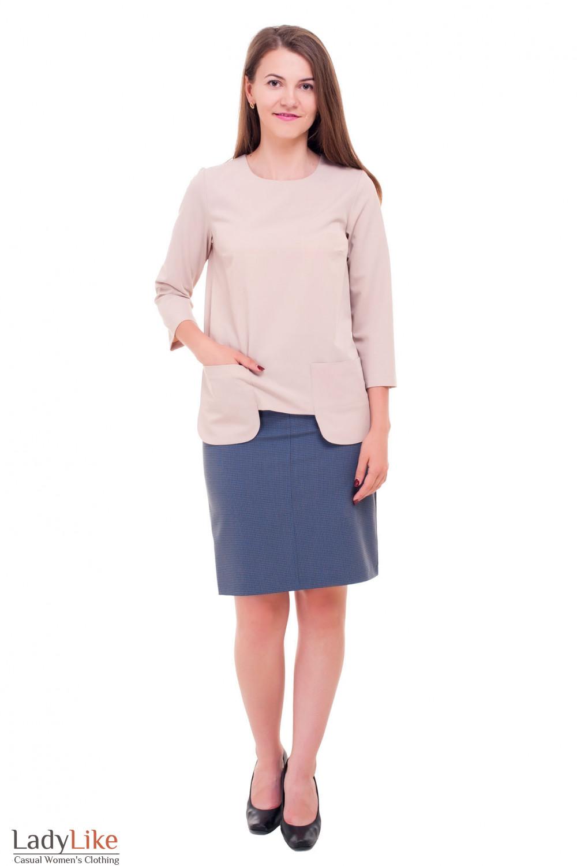 Идеальное сочетание юбки и блузки Деловая женская одежда фото