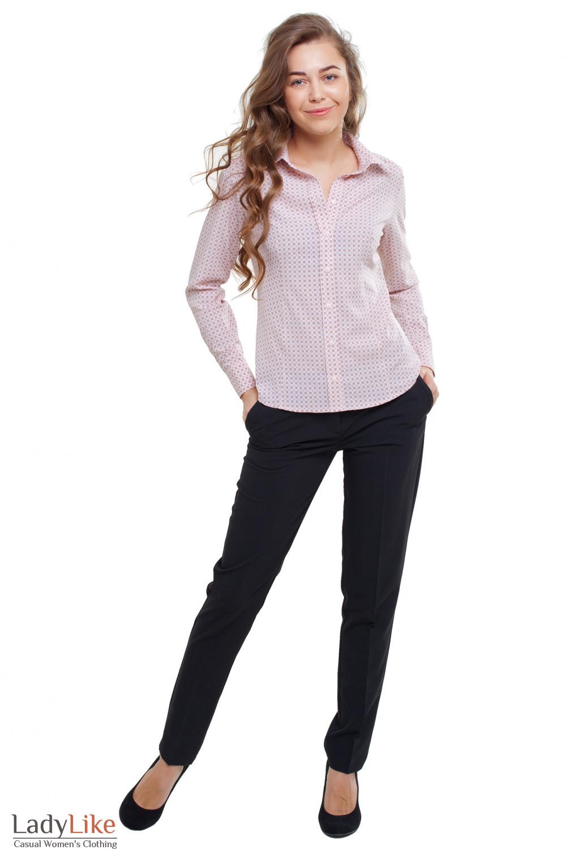 Блузка под костюм Деловая женская одежда фото