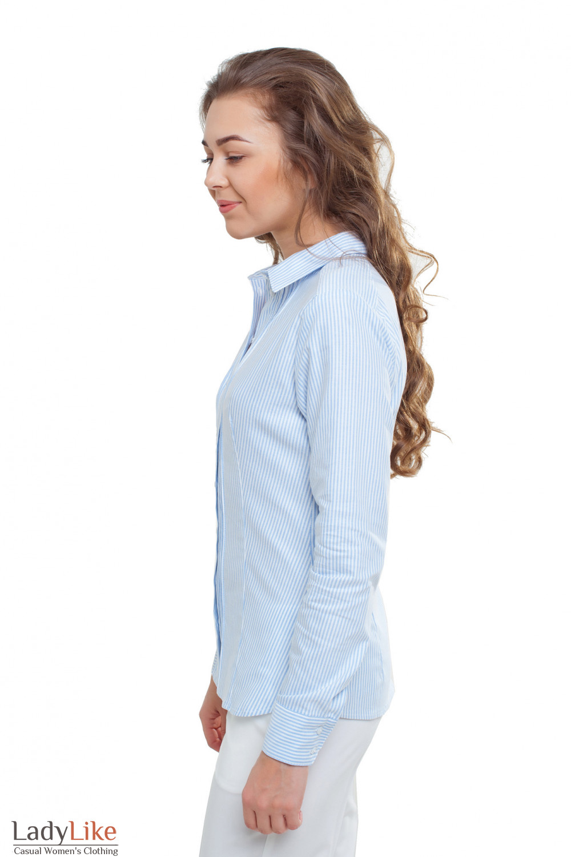 Блузка из хлопка Деловая женская одежда фото