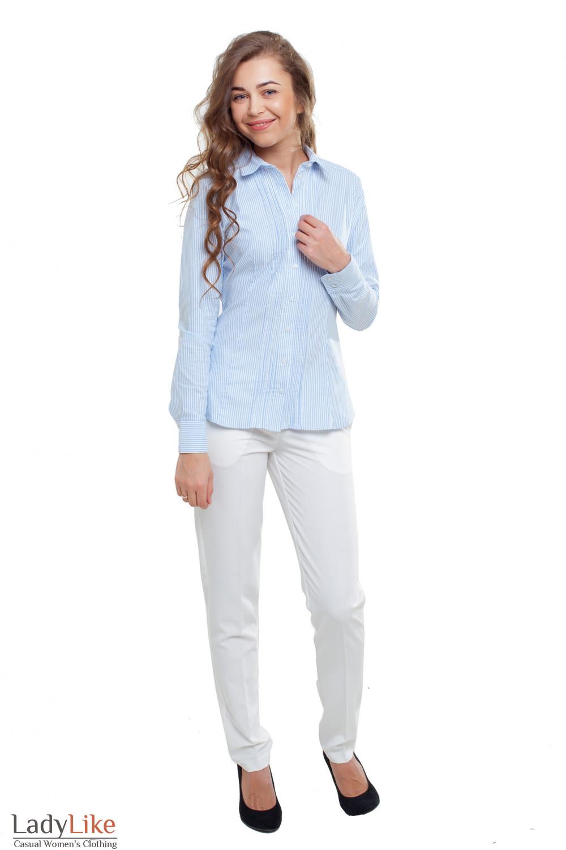 Летняя блузка Деловая женская одежда фото