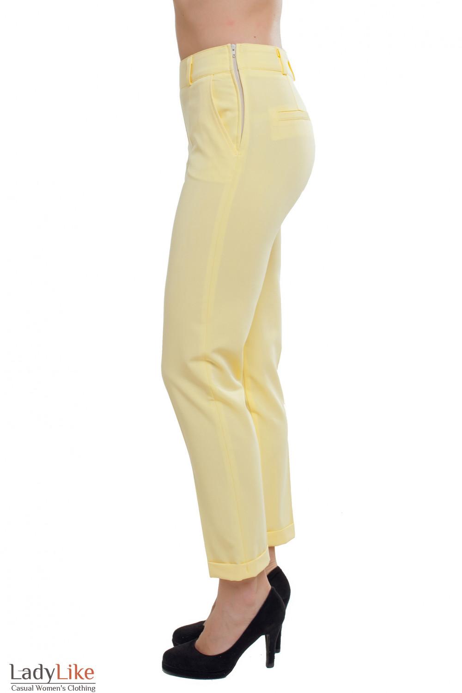 Укороченные брюки Деловая женская одежда фото