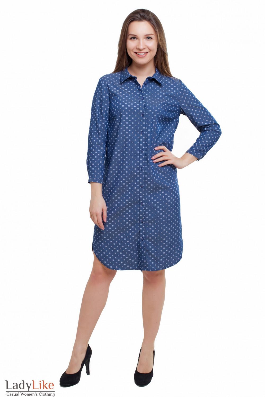 Платье свободное Деловая женская одежда фото