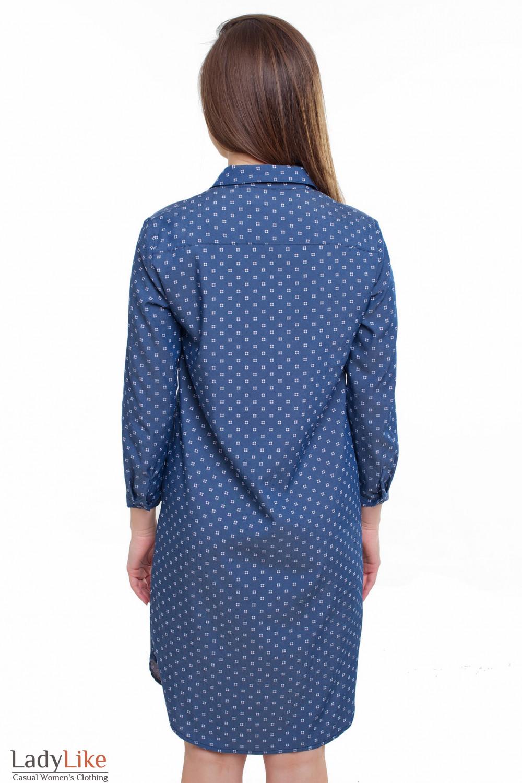 Платье джинсовой Деловая женская одежда фото