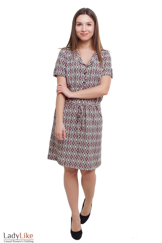 Платье на кулисе Деловая женская одежда фото