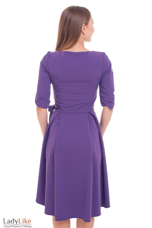 Платье с ассиметричным низом Деловая женская одежда фото