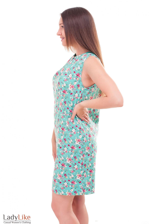 Купить платье льняное с одним защипом Деловая женская одежда фото