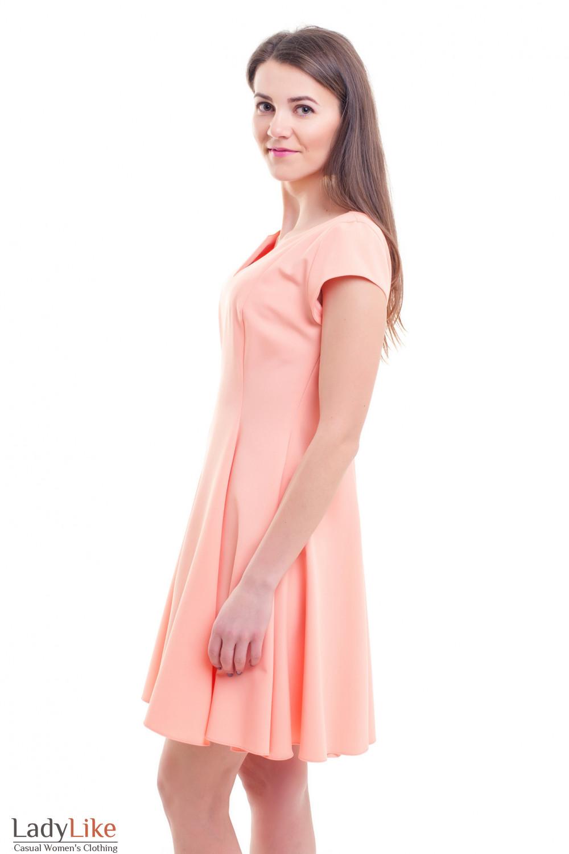 Купить пышное песиковое платье Деловая женская одежда фото