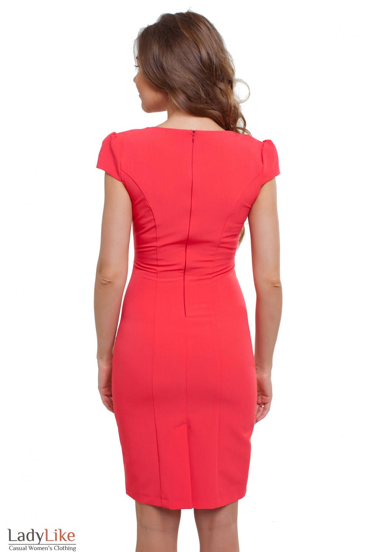 Платье яркое Деловая женская одежда фото