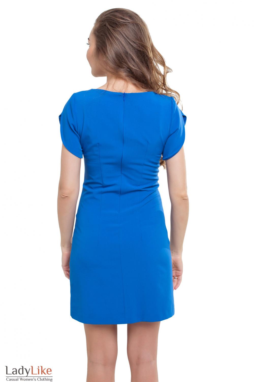Платье с коротким рукавом Деловая женская одежда фото